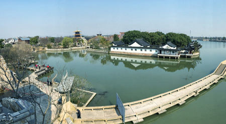 Khu di chỉ văn hóa lịch sử Quảng Phú Lâm ở Thượng Hải