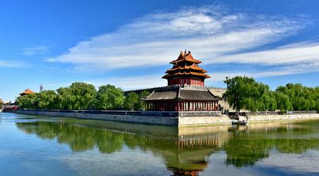 Bắc Kinh: Trời xanh mây trắng đẹp như tranh