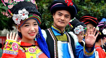 Đám cưới tập thể của đồng bào Khương – Trung Quốc