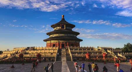Thiên Đàn trong tiết thu Bắc Kinh 2017