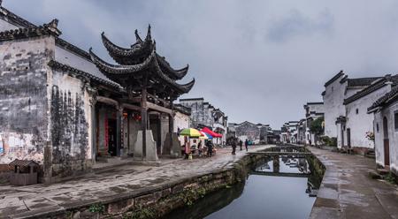 Làng cổ Đường Mô ở Hoàng Sơn tỉnh An Huy