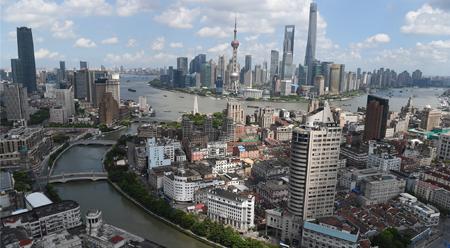 Thượng Hải nhìn từ trên cao