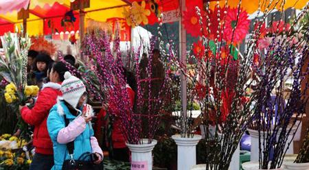 Chợ hoa Tết Quảng Châu