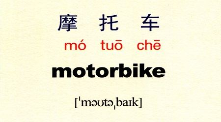 Tự học tiếng Trung với danh từ Sấm 雷