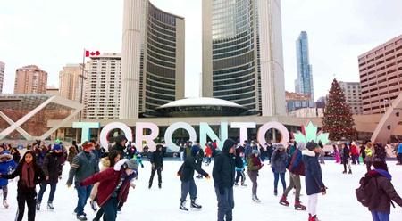 Bài văn mẫu (18) Mùa đông ở Toronto
