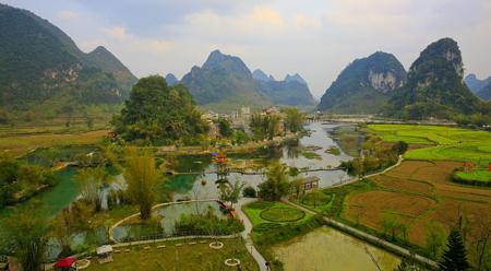 Suối Thiên Nga ở Quảng Tây