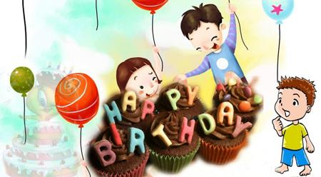 Bài văn mẫu (19) Buổi tiệc sinh nhật của em trai