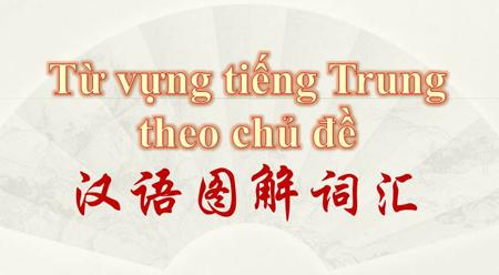 Trải nghiệm tiếng Trung qua từ điển hình (2) Thời gian