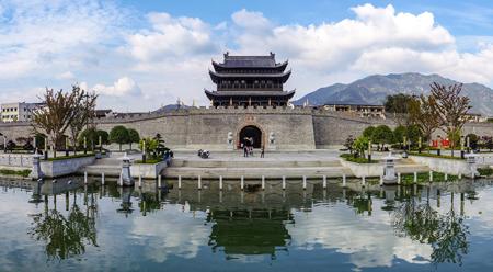 Thành cổ Mai Thành ở Triết Giang