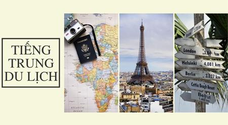 TIẾNG TRUNG DU LỊCH 031: Du lịch hàng không
