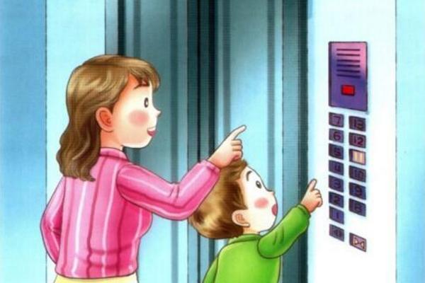 Bài văn mẫu tiếng Trung (28) Câu chuyện ở thang máy